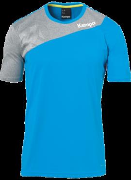 T-Shirt Kempa Bleu et Gris