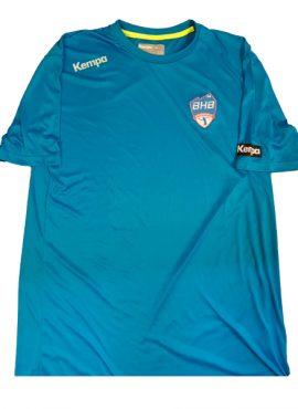 T-Shirt Kempa Coton Bleu